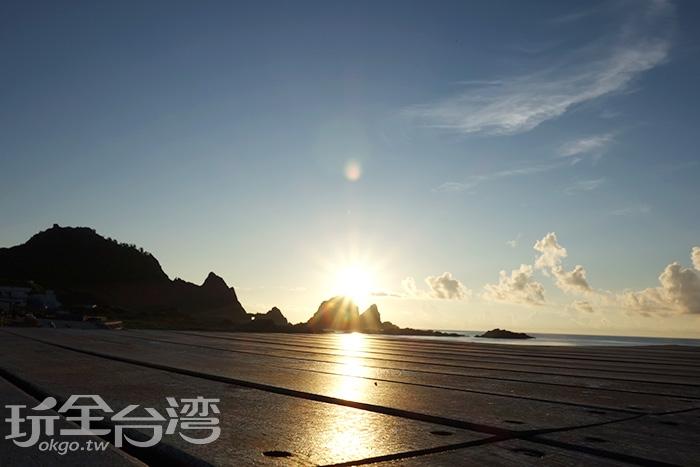 日出時刻/玩全台灣旅遊網特約記者蔣立恩攝