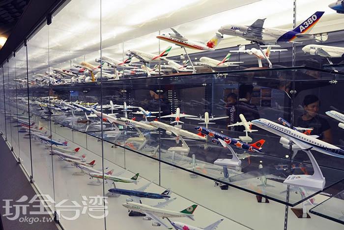 這裡展出許多航空史料,讓人更了解航空的發展/玩全台灣旅遊網特約記者陳伯彥攝