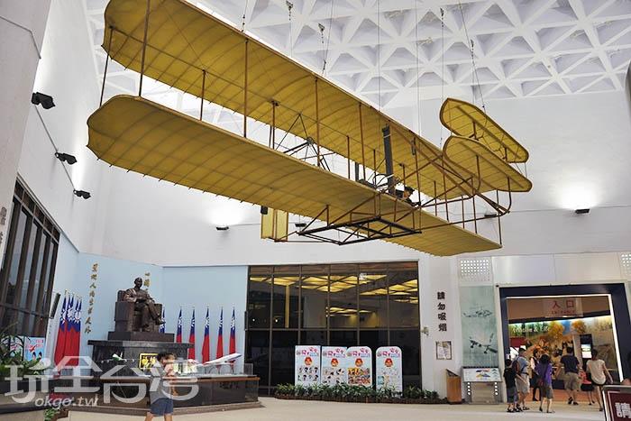 萊特兄弟發明了飛機帶領人類看見不一樣的天空/玩全台灣旅遊網特約記者陳伯彥攝