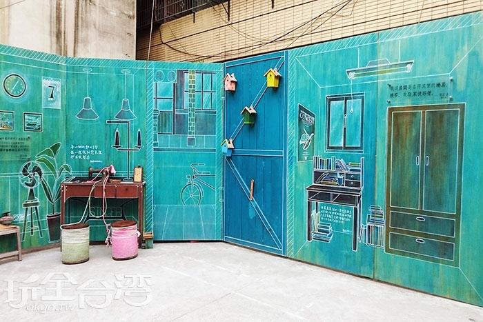 文學搭配裝置文創藝術空間,近期成為熱門打卡點。/玩全台灣旅遊網特約記者蔡忻容攝