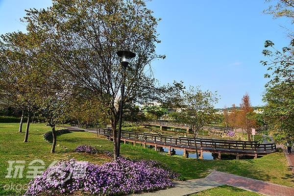 充滿異國風情的盧家公園讓你流連忘返/玩全台灣旅遊網特約記者陳欣瑩攝