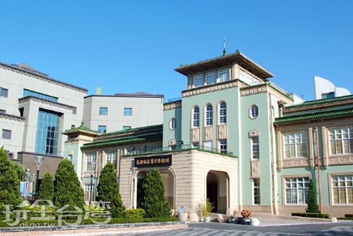 這可愛的蒂芬妮綠建築物是在哪裡呢?/玩全台灣旅遊網攝