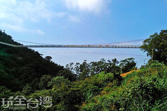 雲梯可直接俯瞰嘉南平原/玩全台灣旅遊網特約記者阿湖攝