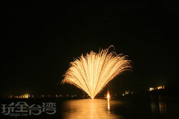 每天花火都讓人期待萬分/玩全台灣旅遊網攝