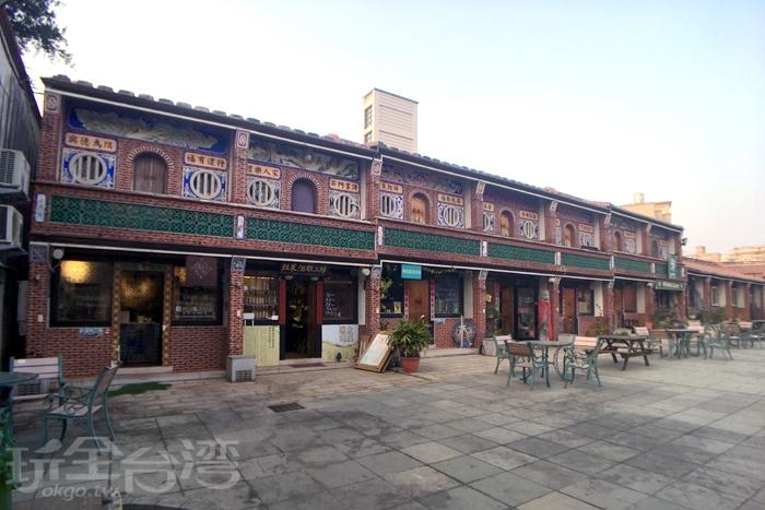 後埔十六藝文特區/玩全台灣旅遊網特約記者郭小花攝