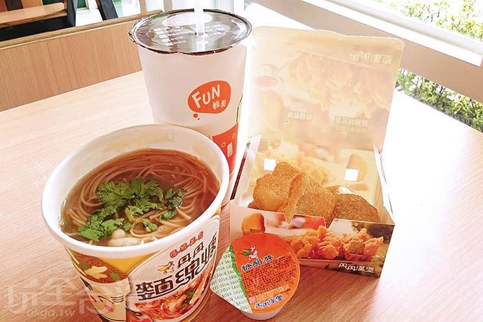 南台灣獨享的丹丹漢堡/玩全台灣旅遊網特約記者蔡忻容攝