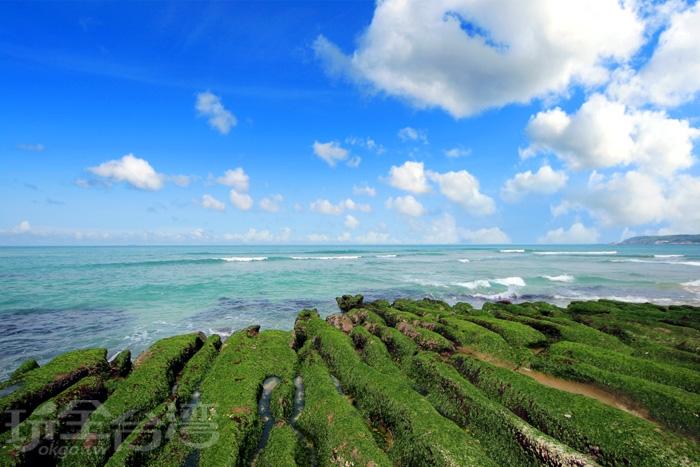 石門老梅綠石槽/玩全台灣旅遊網攝