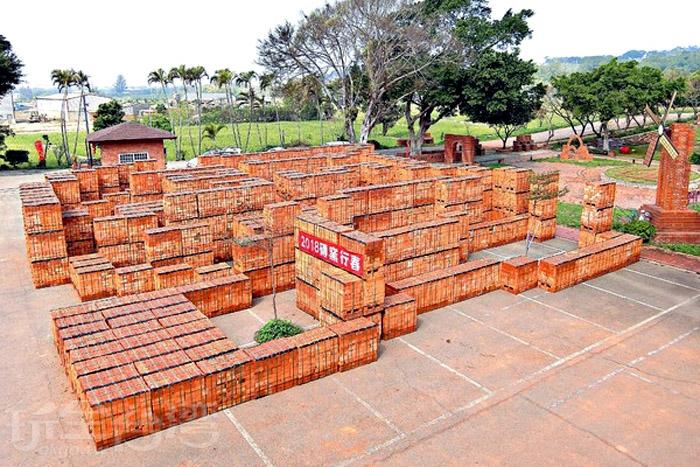 金良興觀光磚廠創立於1973年,是全台唯一以紅磚文化文主題的觀光工廠。/玩全台灣旅遊網特約記者阿辰攝