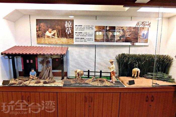 早期藺草帽是苑裡鎮著名外銷之一,隨著產業沒落而逐漸被取代。/玩全台灣旅遊網特約記者阿辰攝