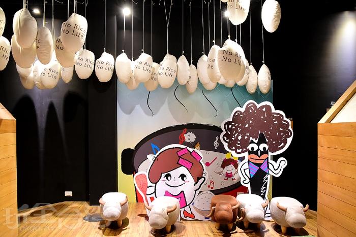 二樓展館設計多了點卡通風格來吸引小朋友的目光!/玩全台灣旅遊網特約記者阿辰攝