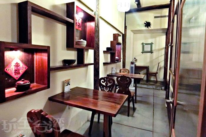正興咖啡館結合餐飲及旅店,環境幽靜舒適。/玩全台灣旅遊網特約記者阿辰攝