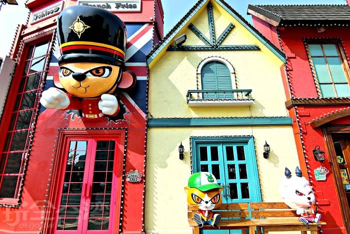DoGa香酥辣椒的建築外觀討喜可愛。/玩全台灣旅遊網特約記者阿辰攝