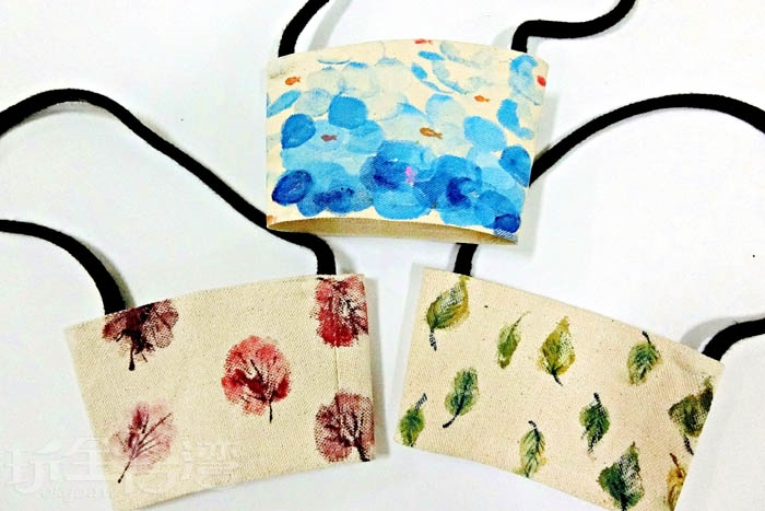 大家一起減少使用塑膠袋,環保愛地球,發揮創意做個好看又實用的杯套吧。/玩全台灣旅遊網特約記者阿辰攝