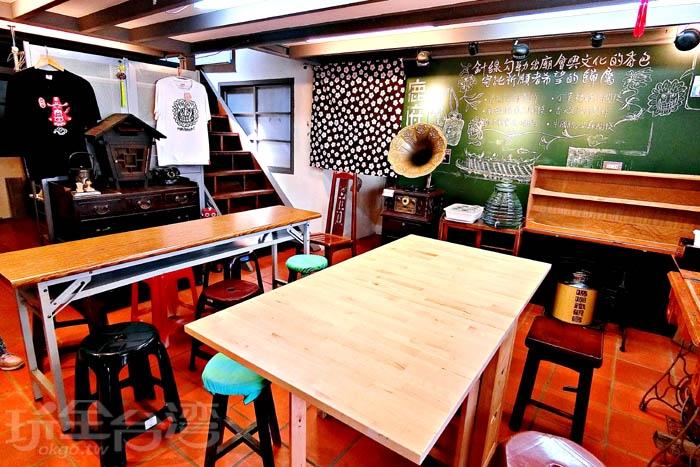 坐落於觀光名勝的安平老街巷內。/玩全台灣旅遊網特約記者阿辰攝