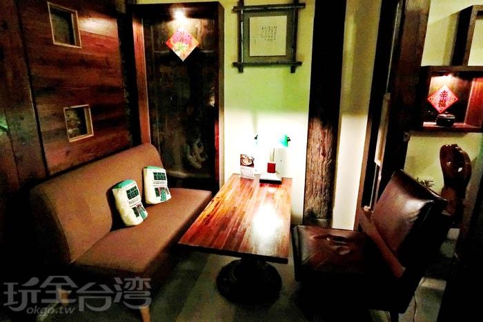 旅人可以在這裡愜意的享受午候寧靜。/玩全台灣旅遊網特約記者阿辰攝