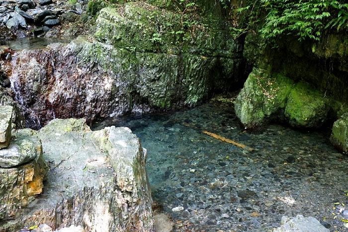 步道旁的溪流河水好清澈!/玩全台灣旅遊網特約記者阿辰攝