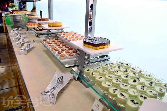 甜點部分我個人還覺得不錯~/玩全台灣旅遊網特約記者阿辰攝