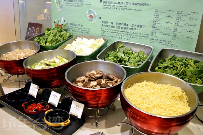樂活蔬食:DIY蔬食、切仔麵。/玩全台灣旅遊網特約記者阿辰攝