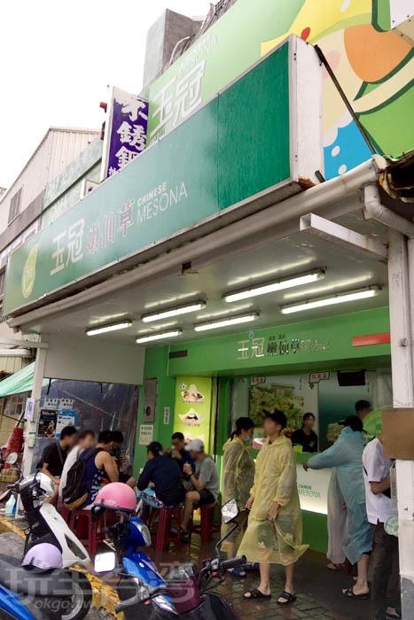 我們來訪的這幾天,聽說天天都在排隊...。/玩全台灣旅遊網特約記者阿辰攝