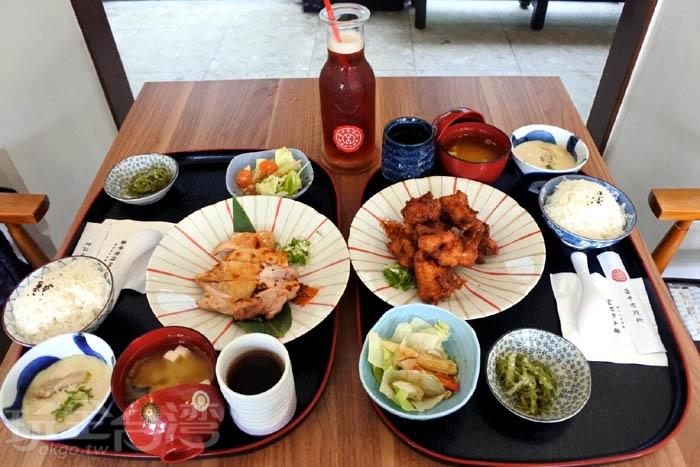 有定食、飲品、冰品...等,平日去人比較少,但是假日就必須等待一些時間。/玩全台灣旅遊網特約記者阿辰攝