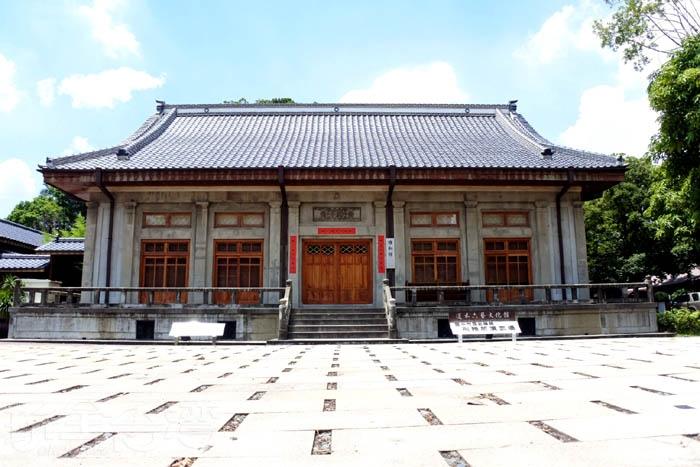 道禾六藝文化館興建於昭和12年(1937年)為日據時期司獄官、警日常演習柔道、劍道之訓練場。/玩全台灣旅遊網特約記者阿辰攝