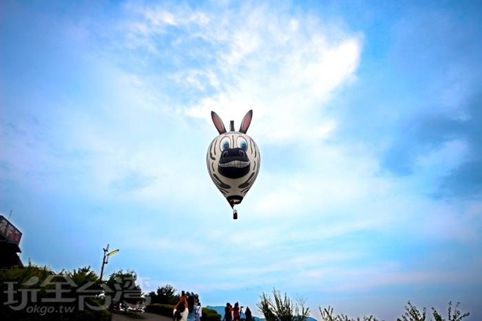 鹿野高台熱氣球嘉年華/玩全台灣旅遊網攝
