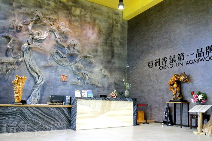 進入園區,需先從展觀來參觀,館內大廳,挑高氣派!/玩全台灣旅遊網特約記者阿辰攝