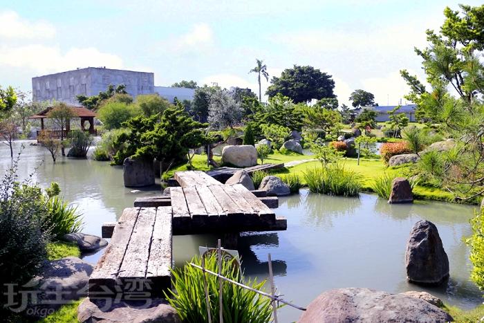 庭園中種植多達80多種樹種可供觀賞~/玩全台灣旅遊網特約記者阿辰攝