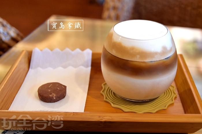 咖啡不僅好喝,也十分耐看/玩全台灣旅遊網特約記者阿辰攝
