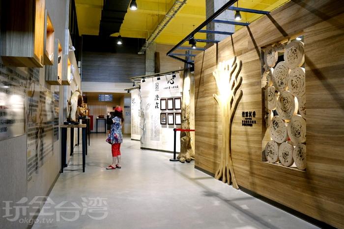展館內介紹區不大~/玩全台灣旅遊網特約記者阿辰攝