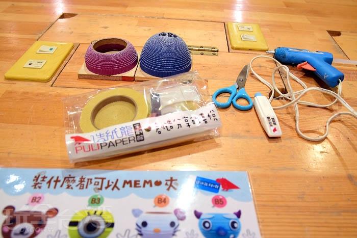選好DIY作品、結帳後,工作人員就會帶位並準備DIY工具,然後解說如何製作../玩全台灣旅遊網特約記者阿辰攝