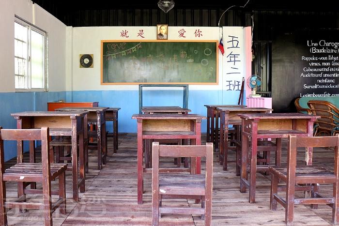 現場佈置的場景復古有趣/玩全台灣旅遊網特約記者阿辰攝