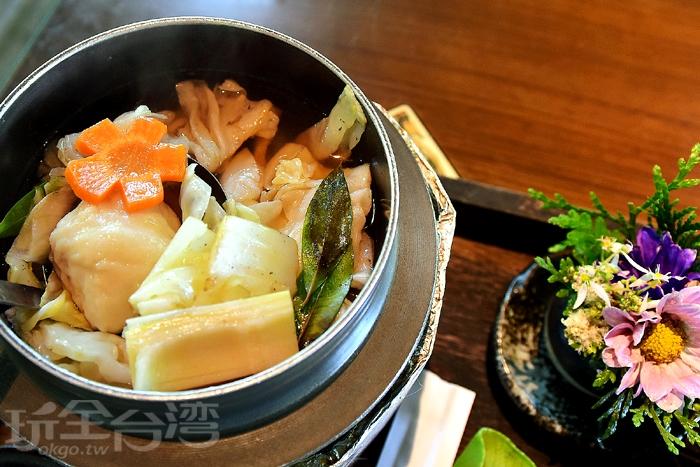 鹹度濃稠調和剛剛好的湯頭/玩全台灣旅遊網特約記者阿辰攝