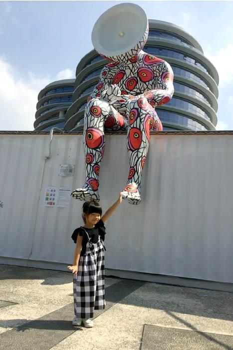 負責傳達正能量的光影巨人怎麼能錯過呢!/玩全台灣旅遊網神隱少女提供
