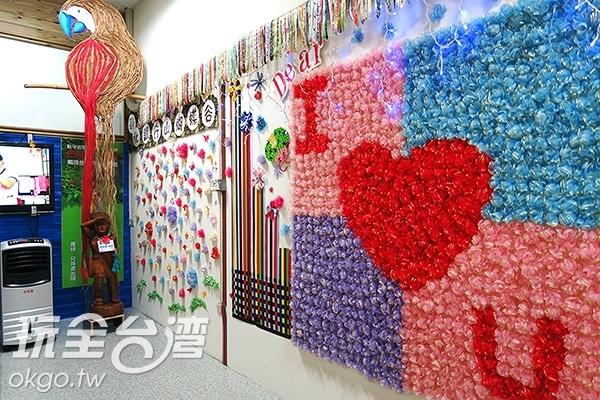 各種緞帶藝術作品/玩全台灣旅遊網攝