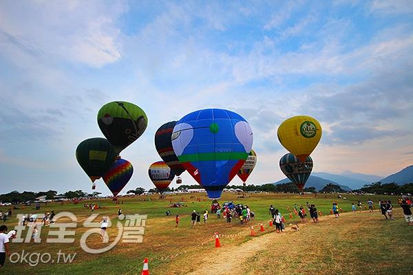 台灣熱氣球嘉年華/玩全台灣旅遊網攝
