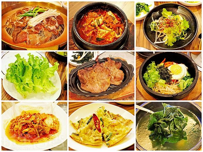 隨著每一道韓式料理上桌,彷彿置身在韓國品嚐美食的美好錯覺/玩全台灣旅遊網特約記者阿辰攝