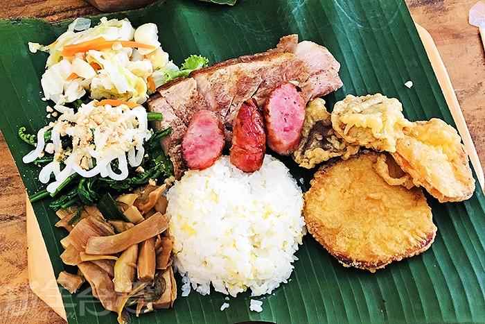 風味餐讓人食指大動,分量十足!/玩全台灣旅遊網特約記者阿辰攝