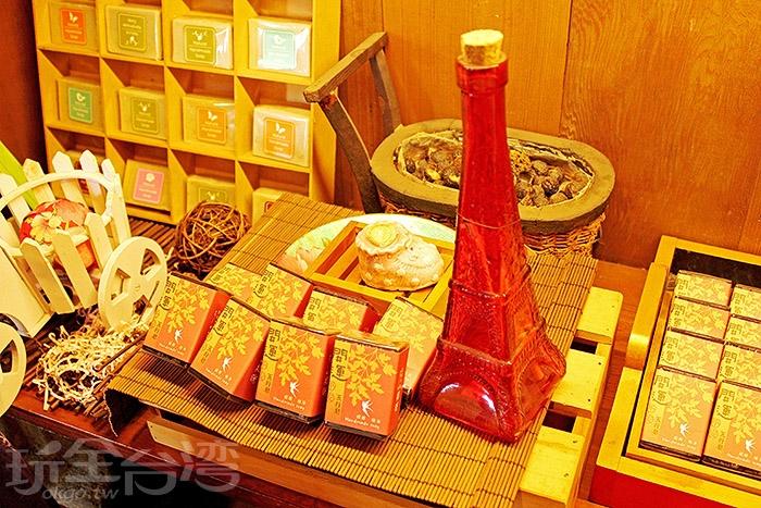 這裡網羅許多小物,不管是吃的還是用的~/玩全台灣旅遊網特約記者阿辰攝