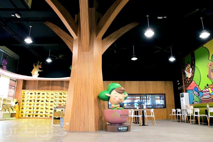 接著來到卷木市集,卷木市集裡有不少原創作商品/玩全台灣旅遊網特約記者阿辰攝