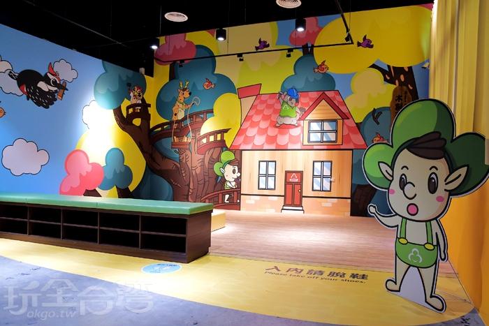 參觀到最後,館方還設一區小朋友玩樂區/玩全台灣旅遊網特約記者阿辰攝