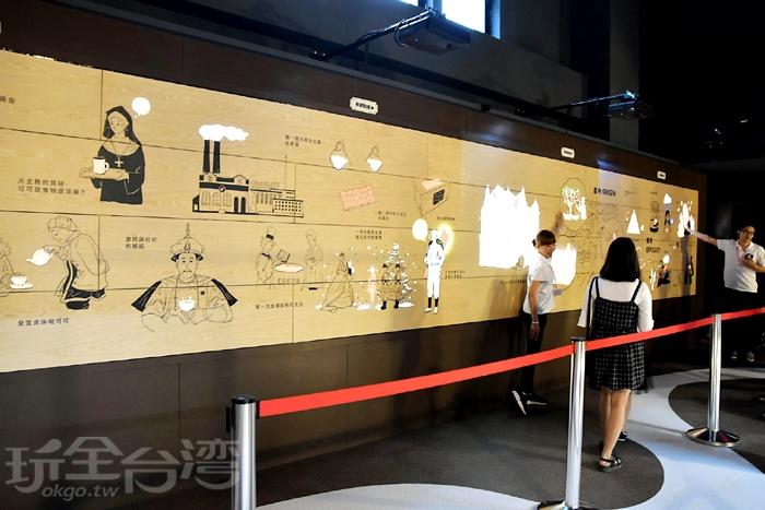三樓-巧克力知識體驗區/玩全台灣旅遊網特約記者阿辰攝