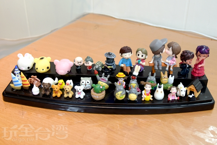 這裡擁有各種裝飾,還有超人氣的動漫主題哦!/玩全台灣旅遊網特約記者阿辰攝