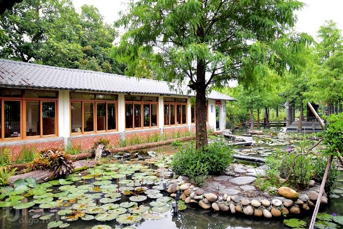 庭園內也種了不少棵落羽松樹,下次在落羽松變色時絕對要再來訪/玩全台灣旅遊網特約記者阿辰攝