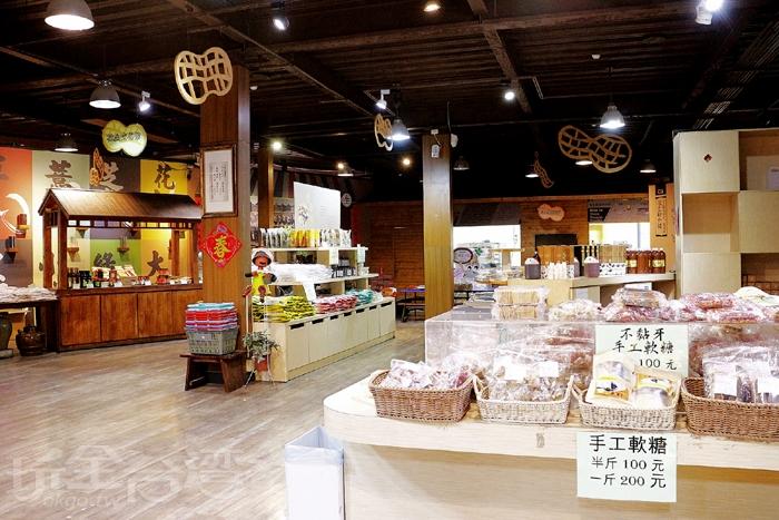 余順豐花生-商品販賣區/玩全台灣旅遊網特約記者小玉兒攝