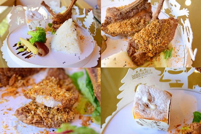 紙箱王餐廳-秘製醬醃豬戰斧肉排/玩全台灣旅遊網特約記者小玉兒攝