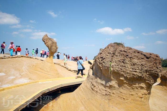 野柳地質公園/玩全台灣旅遊網攝