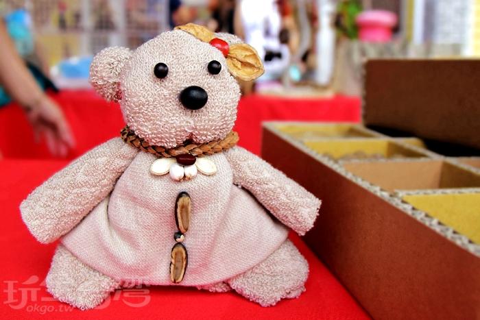 奶奶的熊毛巾故事館~體驗手作毛巾熊/玩全台灣旅遊網特約記者小玉兒攝