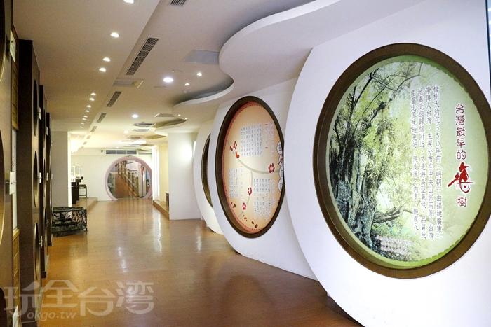 梅問屋梅子元氣館-時光走廊/玩全台灣旅遊網特約記者小玉兒攝