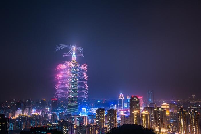 台北101跨年煙火/照片提供_艾波利